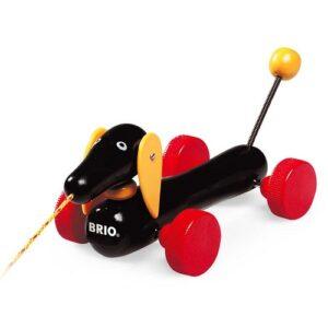 dragdjursleksak hund