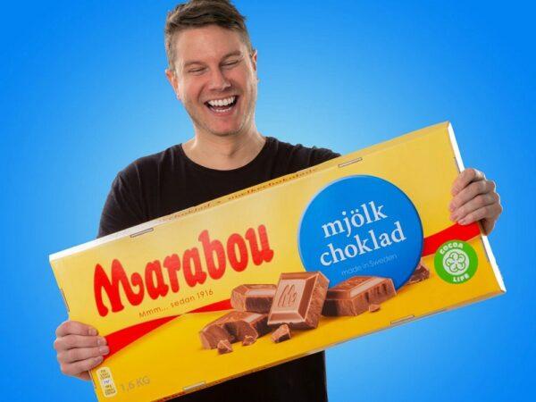 Gigantisk chokladkaka
