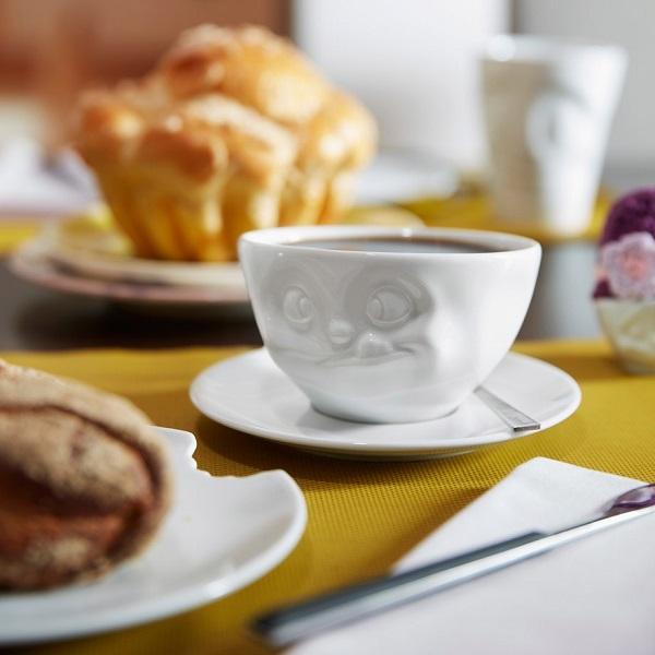 kaffekopp med tunga
