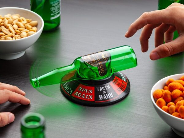 snurra flaskan