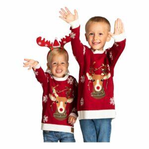 Röd jultröja till barn