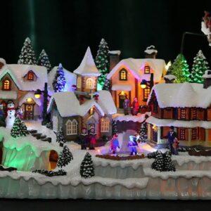 stor julby med olika färger